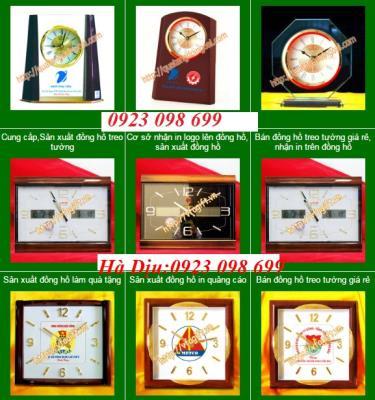 Đồng đồng hồ treo tường, đồng hồ sự kiện, đồng hồ in logo