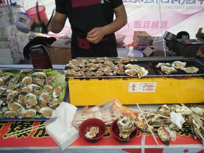 Hội chợ chả có gì ngoài ảnh đồ ăn -tại Hà Khẩu - Trung Quốc
