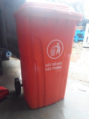 Thùng rác công nghiệp 150 lít giá rẻ Đà Nẵng- Quảng Nam liên hệ 0905681595