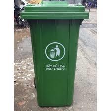 Bán thùng rác 120 lít giá rẻ tại Miền Trung 0905681595