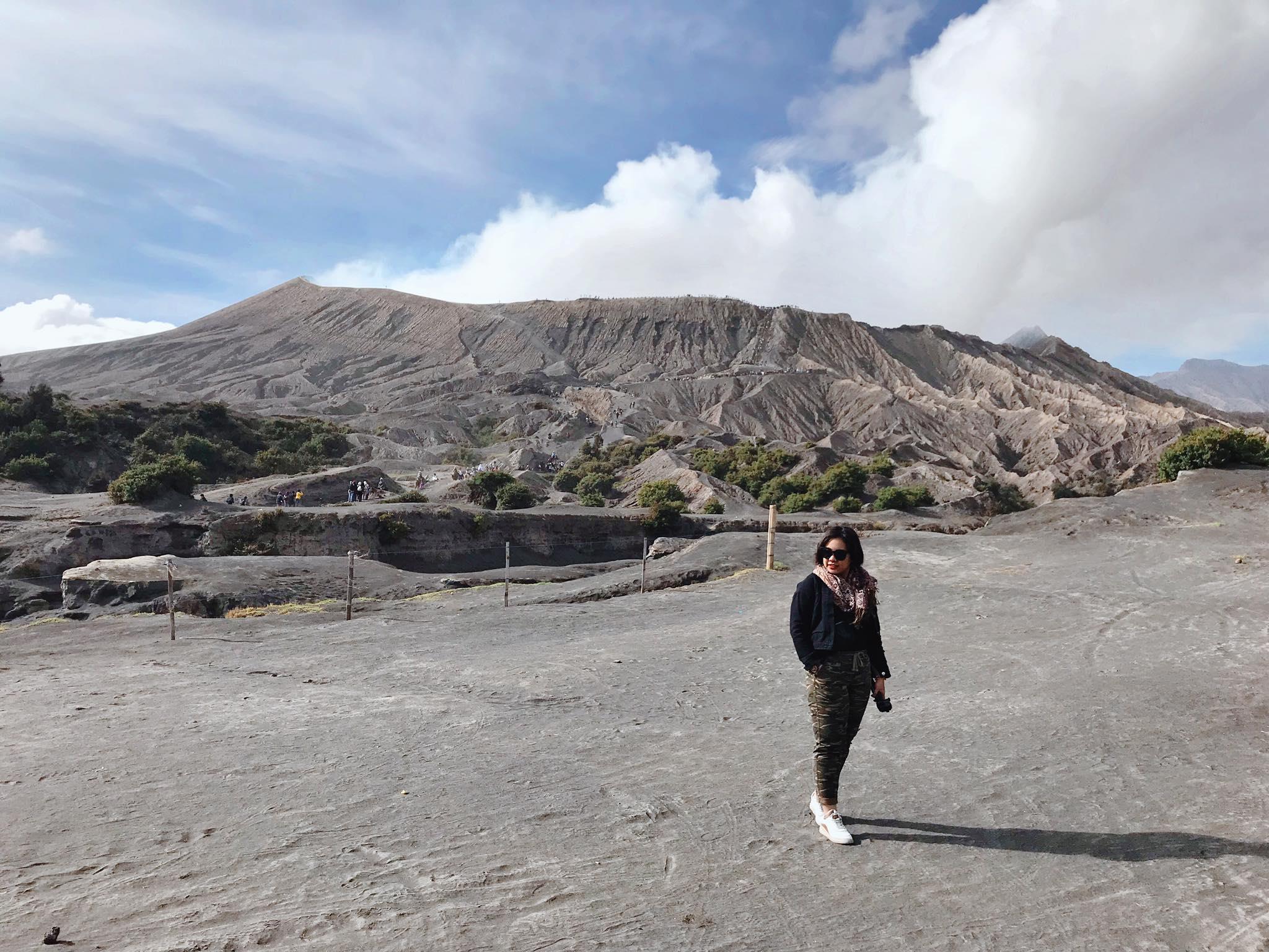 Núi lửa Bromo ở Indonesia