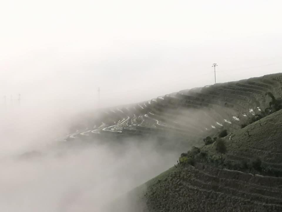 [Ảnh]  Cung đường Ka Lăng - Thu Lũm ngập tràn mây và dã quỳ.