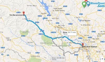 Thông tin các hãng xe khách Hà Nội đi Yên Bái