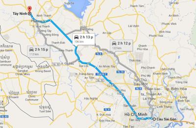 Thông tin lịch trình các hãng xe khách Sài Gòn Tây Ninh