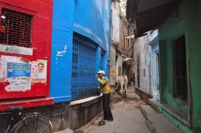 Varanasi vào một buổi sáng sớm