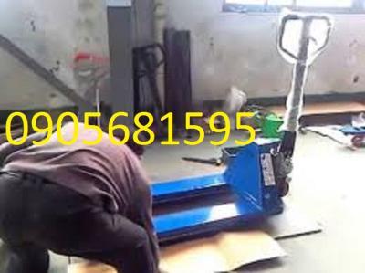 xe nâng tay thủy lực 5 tấn Đài Loan giá re Quảng Nam 0905681595