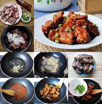 Tổng hợp các món ăn từ sườn P2