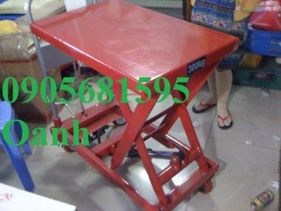Xe nâng mặt bàn, xe nâng chậu cây cảnh giá rẻ 0905681595