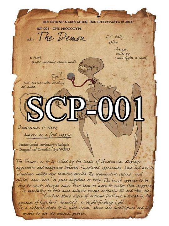 SCP - 001: BÍ ẨN VÀ HUYỀN THOẠI NHẤT CỦA SCP