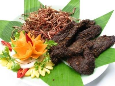 Đặc sản thịt trâu sấy Sapa