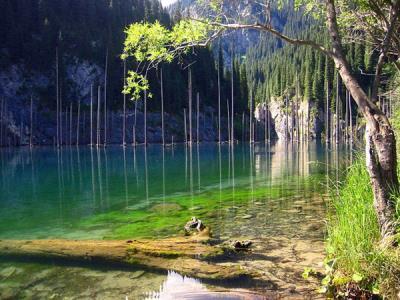 湖Noong  - 吹きさらしの高原の間蓬莱