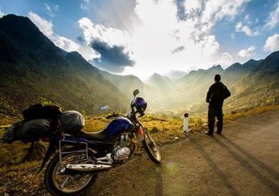 Places to rent a motorbike while traveling Ha Giang