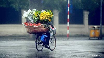 Hà Nội duyên dáng gánh hàng rong