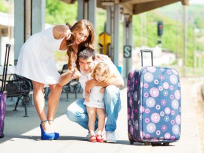 带小孩旅行时注意