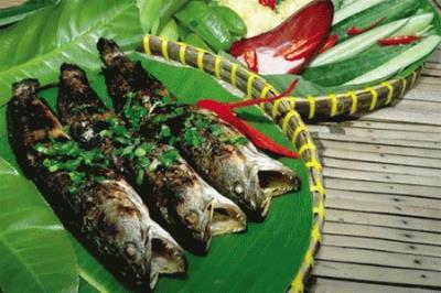 Đặc sản cá sửa Cù lao Tân Lộc