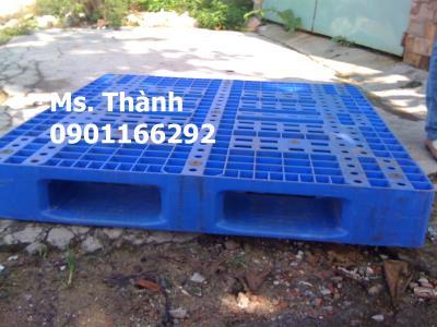 PALLET XANH 1100X1100X120 MỚI 95% HUếGIÁ 325K LH 0901166292