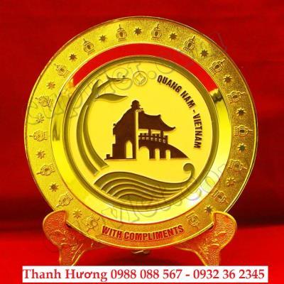 cung cấp quà tặng ngày kỉ niệm,sản xuất đĩa đồng quà tặng,đĩa đồng đúc nổi logo,cung cấp đĩa đồng tặng khách hàng,in khắc nội dung