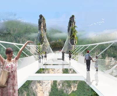 Có nên thử: Cây cầu bằng kính cao nhất thế giới ?!