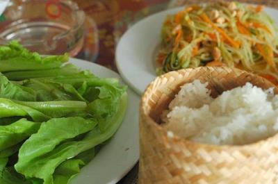 Tam maak Hung - Đặc sản Lào