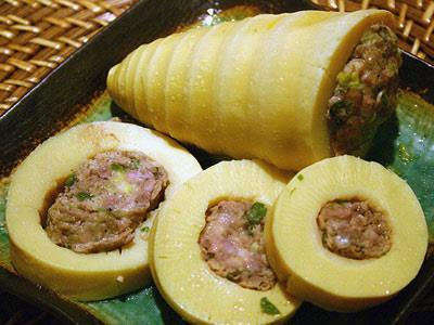 Măng ống nhồi thịt - Món ăn yêu thích của người Lào