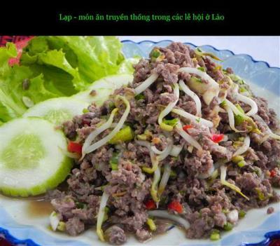 Hãy cùng thưởng lạp - thêm lộc ở Lào