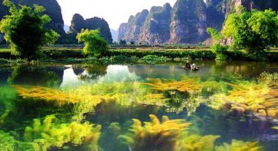 """Du lịch """"Vịnh Hạ Long Không Sóng"""" tại Ninh Bình !"""
