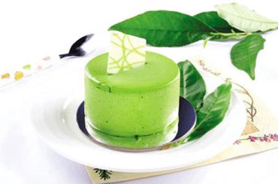 INSTRUCTIONS FOR MAKING POLE GREEN TEA flan SIMPLE