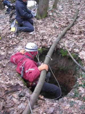 The mystery of the deep holes in the dense forest in Russia