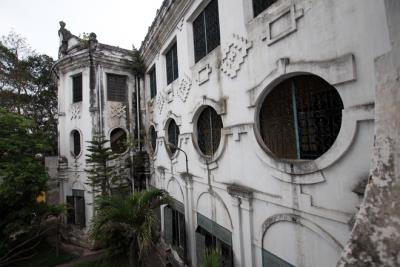 Architecture school in Nam Dinh strange