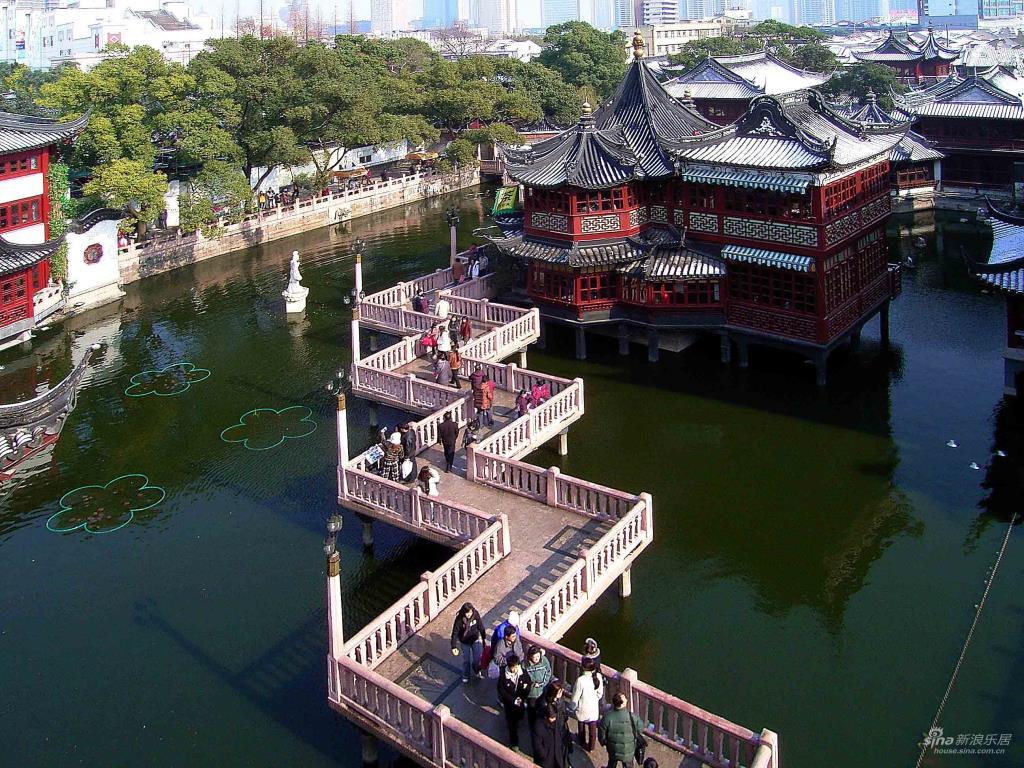 Garden, Shanghai - tourist destination for swordplay film fan