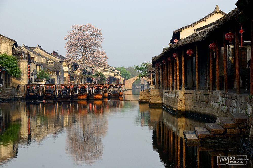 Tây Đường, vùng sông nước sinh thái được bảo tồn hoàn mỹ