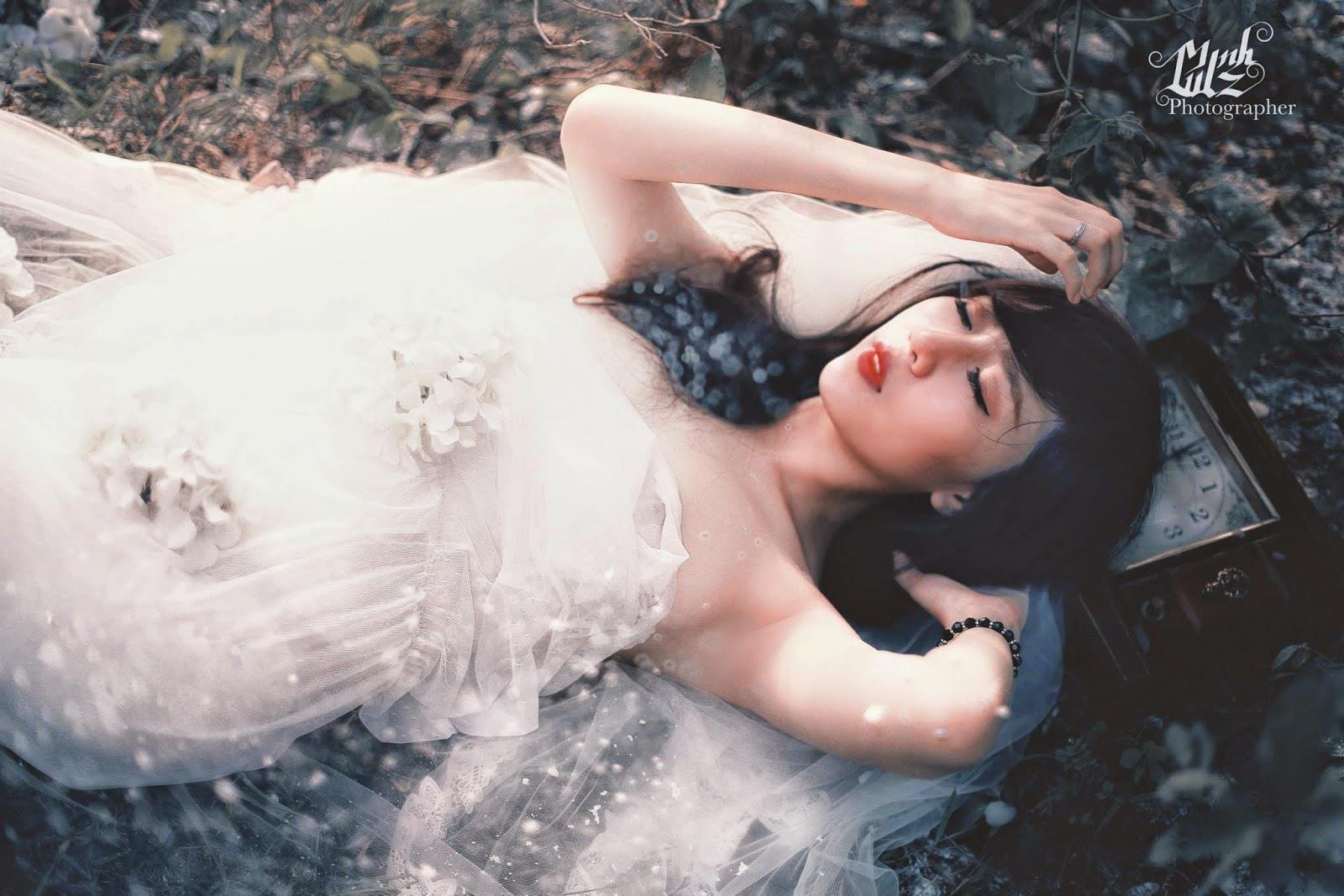 Minh Anh – thiên thần váy trắng