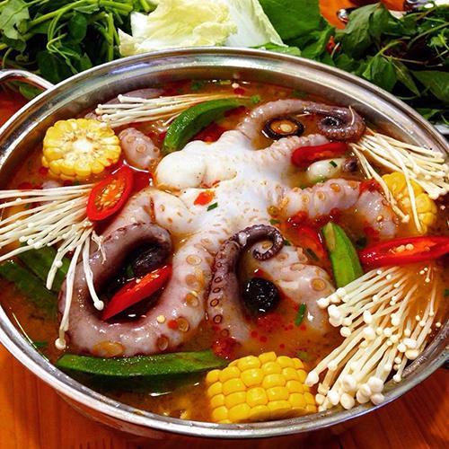 Ba quán lẩu bạch tuộc cho ngày mưa cuối tuần ở Hà Nội