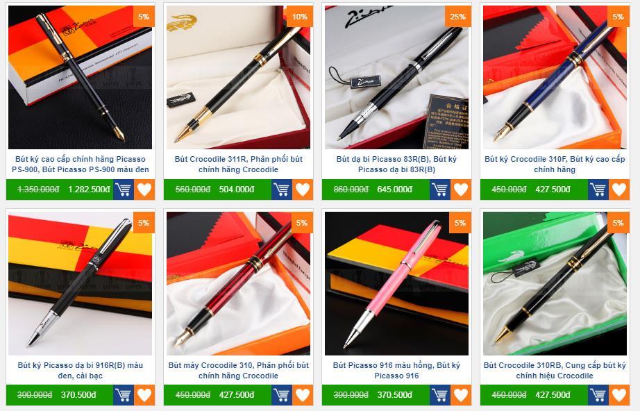 Cửa hàng bán bút ký cáo cấp, cung cấp bút ký kim loại, sản xuất bút bi