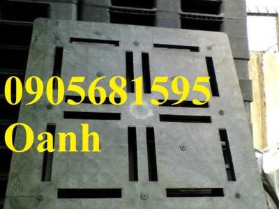 Pallet nhựa mặt bông đã qua sử dụng mới đến 90% giá siêu rẻ tại đà nẵng 0905681595