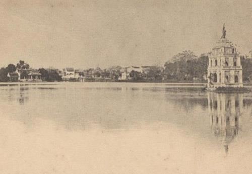Những chuyện thăng trầm xoay quanh tháp Rùa Hồ Gươm
