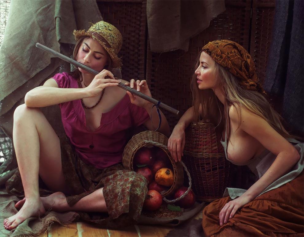 Tổng hợp những bức ảnh nude nghệ thuật đẹp nhất thế giới