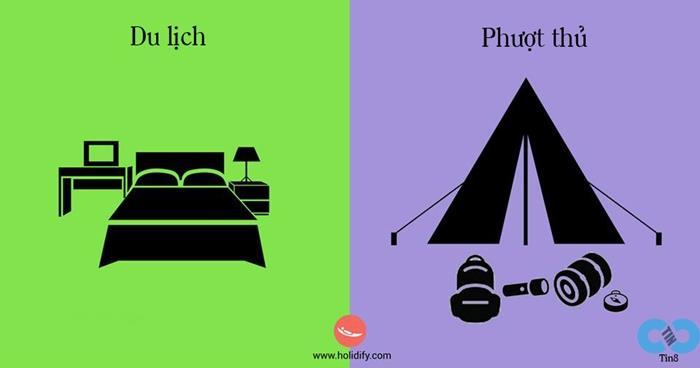 Sự khác nhau giữa người đi du lịch và phượt thủ